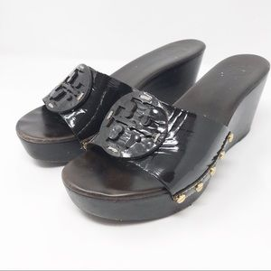 "Tory Burch ""Patti"" wedge sandals           S2-62-2"